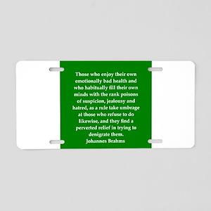 7 Aluminum License Plate