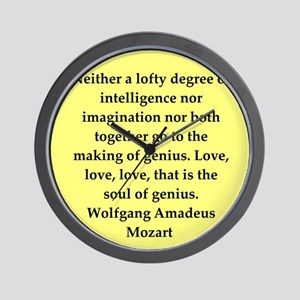 MOZART4 Wall Clock