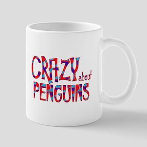 Crazy About Penguins Mugs
