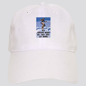 Old Surfers Never Die Cap