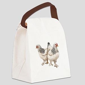 Brahma Hens Canvas Lunch Bag