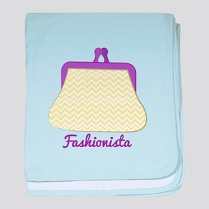 Fashionista Purse baby blanket