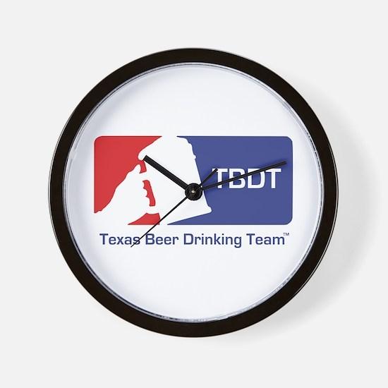 Texas Beer Drinking Team Wall Clock
