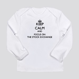 Keep Calm by focusing on The S Long Sleeve T-Shirt