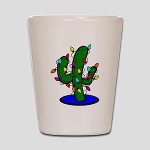 Christmas Tree Cactus Shot Glass