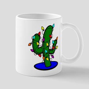 Christmas Tree Cactus Mugs