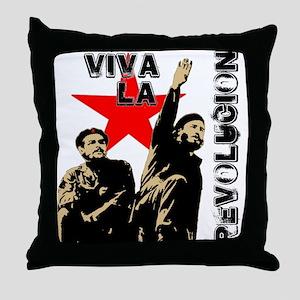 Che/Fidel2 Throw Pillow