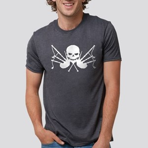 Skull & Crossdrones, White T-Shirt