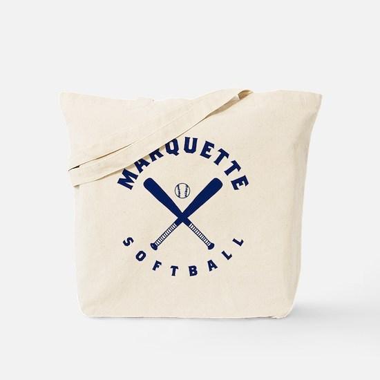 Marquette Golden Eagles Softball Tote Bag