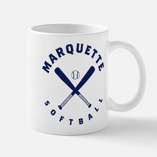 Marquette Golden Eagles Softball Mug