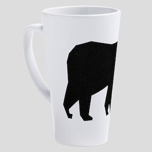 BEAR AWARE 17 oz Latte Mug