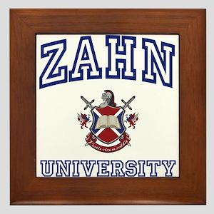 ZAHN University Framed Tile