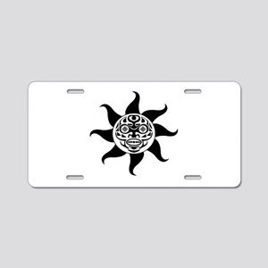 LIGHTED WAYS Aluminum License Plate