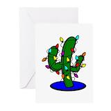 Christmas desert Greeting Cards (20 Pack)