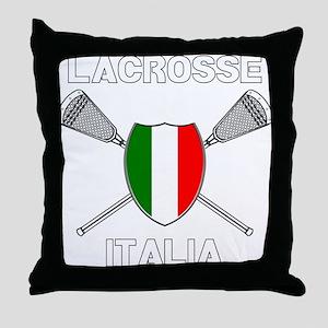 Lacrosse Italia Throw Pillow