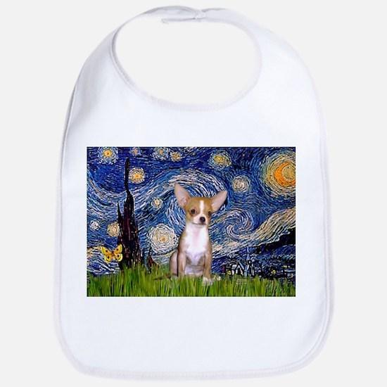 Starry Night Chihuahua Bib
