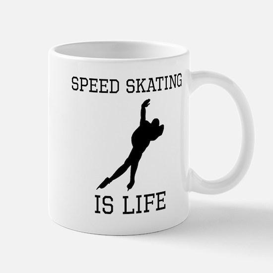 Speed Skating Is Life Mugs