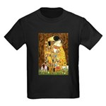 The Kiss & Chihuahua Kids Dark T-Shirt