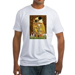 The Kiss & Chihuahua Fitted T-Shirt