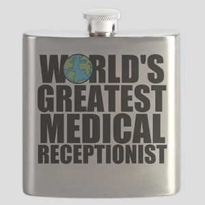 World's Greatest Medical Receptionist Flask