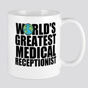 World's Greatest Medical Receptionist Mugs