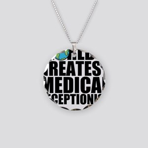 World's Greatest Medical Receptionist Necklace