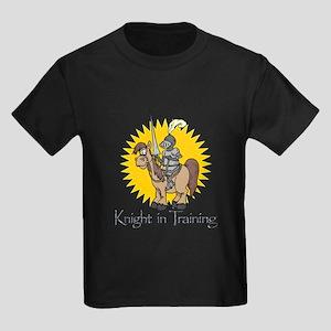 """""""Knight in Training"""" Kids Dark T-Shirt"""