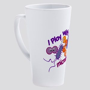 playmicrobes 17 oz Latte Mug