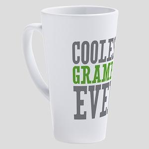 Coolest Grampy 17 oz Latte Mug