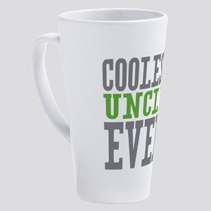 Coolest Uncle 17 oz Latte Mug
