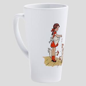 Chicken 17 oz Latte Mug