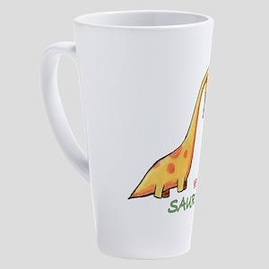vdino 17 oz Latte Mug