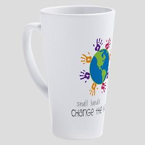 Small Hands 17 oz Latte Mug