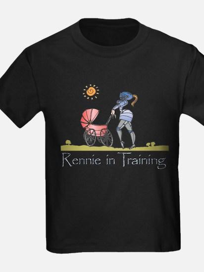 """""""Rennie in Training"""" T"""