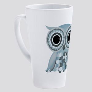 LittleBlueOwl 17 oz Latte Mug
