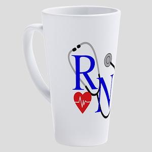 RN FULL FRONT 17 oz Latte Mug