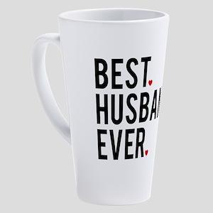 Best husband ever 17 oz Latte Mug