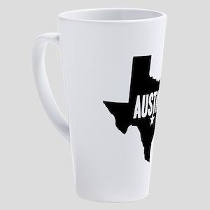 Austin, TX 17 oz Latte Mug