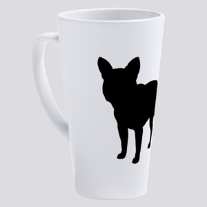 frenchbulldog 17 oz Latte Mug