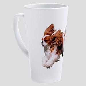 Cavalier Running- Blenheim 17 oz Latte Mug