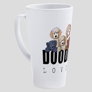 Doodle Lover 17 oz Latte Mug