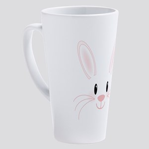 Bunny Face 17 oz Latte Mug