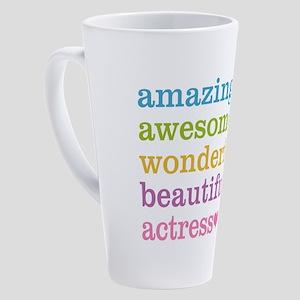 Amazing Actress 17 oz Latte Mug