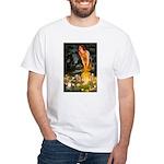 Fairies & Chihuahua White T-Shirt