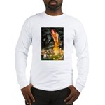 Fairies & Chihuahua Long Sleeve T-Shirt