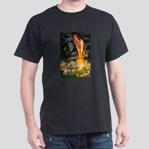 Fairies & Chihuahua Dark T-Shirt