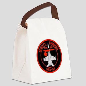 vfa_94_f18_02B Canvas Lunch Bag