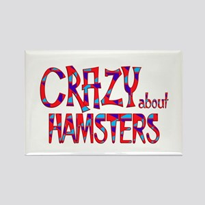 Crazy About Hamsters Magnets