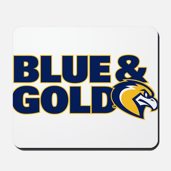 Marquette Golden Eagles Blue and Gold Mousepad