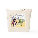 Flying Saucers Tote Bag